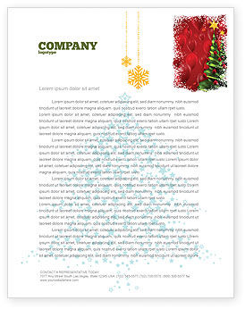 New Year Celebration Letterhead Template