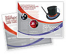 Holiday/Special Occasion: Magic Wand Brochure Template #02887