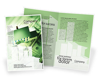 Mortgage On The House Brochure Template