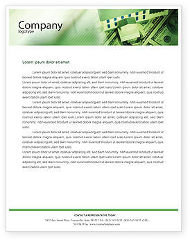 Financial/Accounting: Mortgage On The House Letterhead Template #02891