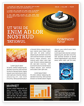 information technology newsletter template