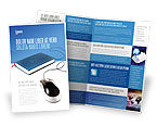 Education & Training: Internet Libraries Brochure Template #02894