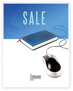 Internet Libraries Sale Poster Template