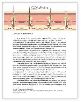 Medical: Skin Letterhead Template #02897
