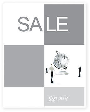 Business: World Time Sale Poster Template #02898