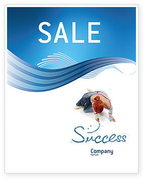 Consulting: Women's Success Sale Poster Template #02900