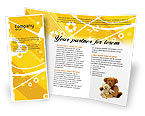 Holiday/Special Occasion: Teddy Bear Brochure Template #02901