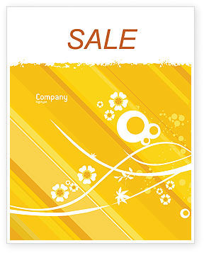Teddy Bear Sale Poster Template, 02901, Holiday/Special Occasion — PoweredTemplate.com