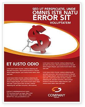 Financial/Accounting: Templat Flyer Dollar Naik #02902