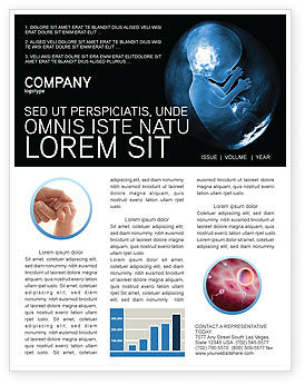 Medical: Embryo Newsletter Template #02903