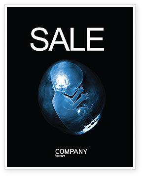 Embryo Sale Poster Template