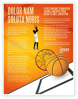 Sports: Basketball Flyer Template #02904