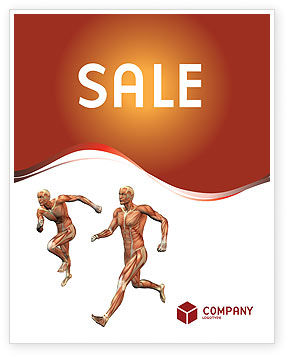 Medical: Muscular System Sale Poster Template #02911