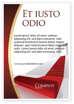 Consulting: Red Carpet Ad Template #02912