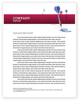 Financial/Accounting: Financial Results Letterhead Template #02915