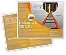 Education & Training: Road to Knowledge Brochure Template #02917