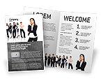 People: Modelo de Brochura - pensamento independente #02918