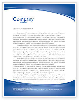 Business Environment Letterhead Template, Layout for Microsoft Word ...