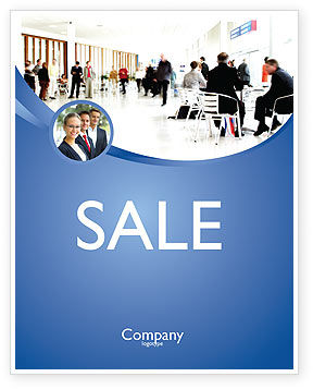 People: Business Environment Sale Poster Template #02923