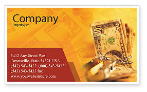 Financial/Accounting: Safe Property Business Card Template #02924
