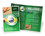 Flags/International: Brazil Sign Brochure Template #02926