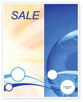 World Business Sale Poster Template, 02927, Global — PoweredTemplate.com