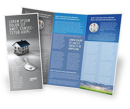 Careers/Industry: Real Estate Property Brochure Template #02932