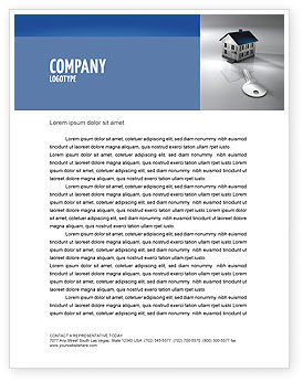 Careers/Industry: Real Estate Property Letterhead Template #02932