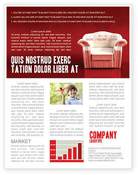 Comfort Chair Newsletter Template