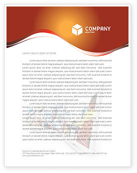 Computer Education In School Letterhead Template, 02935, Education & Training — PoweredTemplate.com