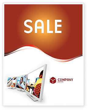 Computer Education In School Sale Poster Template in Microsoft ...