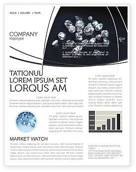 Careers/Industry: Diamonds Newsletter Template #02938