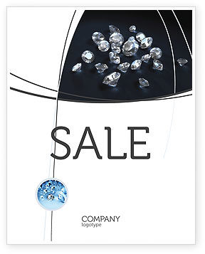 Diamonds Sale Poster Template