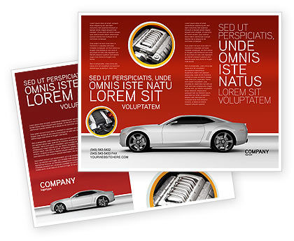 Supercar Brochure Template