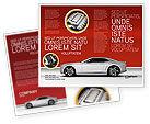 Cars/Transportation: Supercar Brochure Template #02939