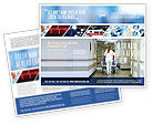 Medical: Modello Brochure - Reparto di rianimazione #02944