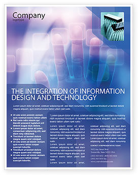 Technology, Science & Computers: Interactive Flyer Template #02946