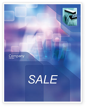 Technology, Science & Computers: Interactive Sale Poster Template #02946