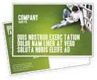 Education & Training: Self-education Postcard Template #02948