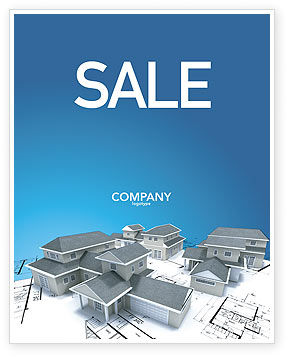House Building Sale Poster Template
