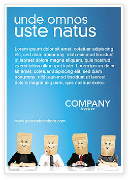 Consulting: Social Masker Advertentie Template #02960