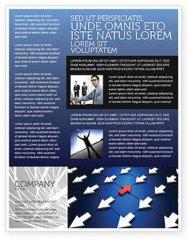 Business Concepts: Private meinung Flyer Vorlage #02965