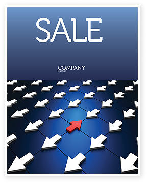 Business Concepts: Private Opinion Sale Poster Template #02965