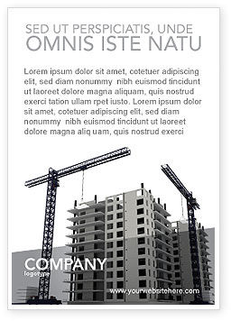 Construction: Bouwgrond Advertentie Template #02967
