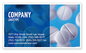Medical: Medical Treatment Business Card Template #02972