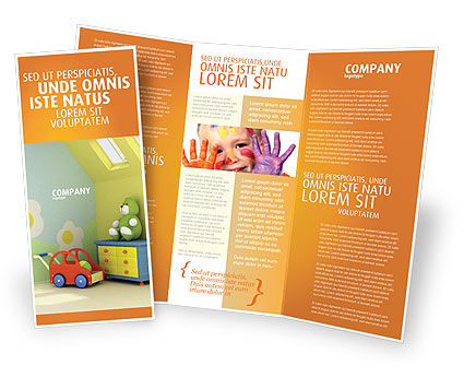 nursery brochure templates free - day nurseries brochure template design and layout