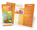 Education & Training: Day Nurseries Brochure Template #02974