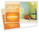 Education & Training: Day Nurseries Postcard Template #02974