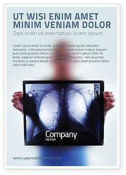 Medical: Lungs Ad Template #02975