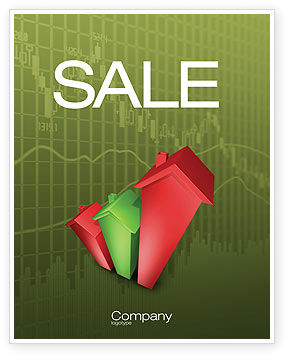 Financial/Accounting: Realty Costs Sale Poster Template #02978